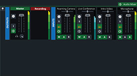 Built-In Audio Mixer